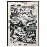 Joe Kubert. G.I. Combat Original Cover #157