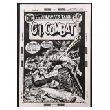Joe Kubert. G.I. Combat Original Cover #167