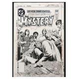 Joe Kubert. House of Mystery Original Cover.