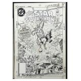 Joe Kubert. All Star Squadron. Cover.