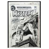 Joe Kubert House of Mystery #290 Cover Art.