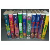 (10) Disney VHS Animated Films