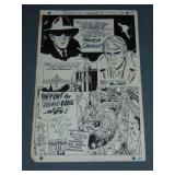 Bill Draut  (1921 - 1993) Original Comic Page.