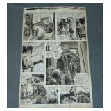 Frank Brunner (born 1949) Original Comic Art.