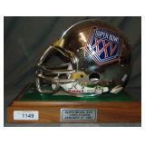 Super Bowl XXV Chrome Replica Helmet Ltd Ed