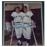 Mickey Mantle & Roger Maris Signed Photograph