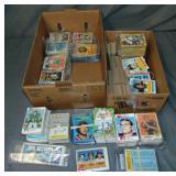 Lot of Vintage Baseball, Football & Hockey Cards