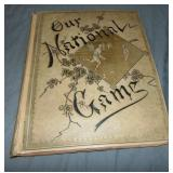 1887 Our National Game Scrapbook