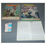 1981 Pete Rose NL Hit Leader Ephemera Lot