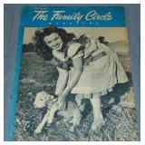 1946 The Family Circle, Marilyn Monroe 1st Cover