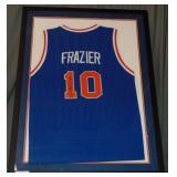 Walt Clyde Frazier Signed NY Knicks Jersey