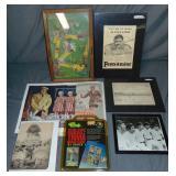 Baseball Collectible and Ephemera Lot
