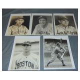 Lot of George Burke Baseball Photos