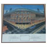 Ebbets Field Multi Signed Lithograph