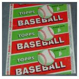 1955 Topps Baseball One Cent Wax Pack Wrapper