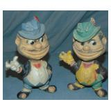 (2) Dodgers Brooklyn Bums Rempel Squeaker Toys