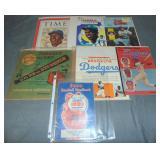 Miscellaneous Brooklyn Dodgers Paper Ephemera Lot