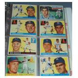 (159) 1954-1966 Baseball Cards