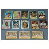 (13) Topps Baseball Cards Pitchers 1959-1966