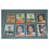 (8) Sandy Koufax Topps Baseball Cards