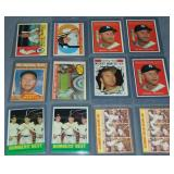 (12) Mickey Mantle Topps Baseball Cards