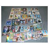 (77) Modern Baseball Cards, Ryan, Ripken, Griffey