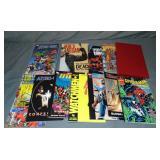 Assorted Marvel & DC Graphic Novel Lot