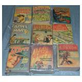 Lot of 9 Vintage Big Little Books
