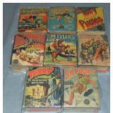 Lot of 8 Vintage Big Little Books