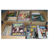 5 Boxes of Magazines, Horror, Sci Fi, Comic, Etc