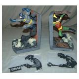 """Boxed Ltd Ed Paquet """"Batman & Robin"""" Bookends Set"""