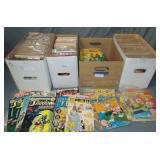 Balance of Estate Comic Collection.
