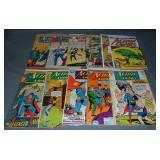 Vintage DC Superman Comic Lot, Mixed Titles