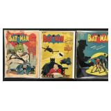 Batman #16, 47 & 49