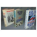 Richard Nixon Signed Book Lot.