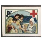 Rare, Join Red Cross Poster