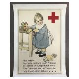 Rare Red Cross Poster