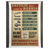 World War II British Poster