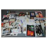 Large Collection of Celebrity Autographs.