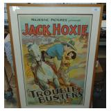 Jack Hoxie One Sheet Movie Poster.