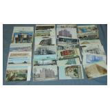 New York City and Brooklyn Post Card Lot.
