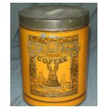 Valina Coffee Tin.