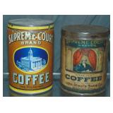 Supreme Court Coffee. Lot of Two.