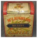 McLaughlin Coffee Store Bin.