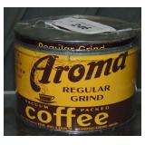 Aroma One Pound Coffee Tin