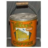Velvet Coffee Tin.