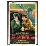 "1919 film ""Lost Battalion"" 1 Sheet Poster B"