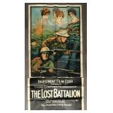"1918 film ""Lost Battalion"" 3 Sheet Poster"