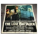 "1918 film ""Lost Battalion"" 6 Sheet Poster"