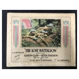 "1918 film ""Lost Battalion"" Lobby Cards"